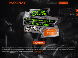 Play MaxiPlay Now