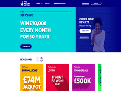 Play The National Lottery Now