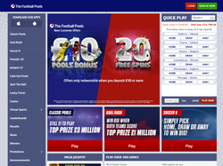 Play The Football Pools Now