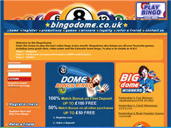 Play Bingo Dome Now