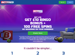 Play Betfred Bingo Now