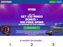 Play Betfred Bingo Now