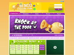 Play Bingo Calling Now