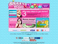 Play Biggest Bingo Now