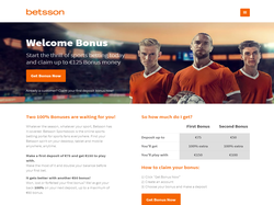 Play Betsson Sportsbook Now