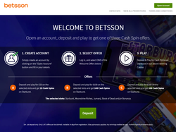 Play Betsson Casino & Live Casino Now