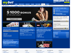 Play myBet Poker Now