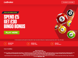 Play Ladbrokes Bingo Now