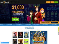 Play Lion Slots Casino Now