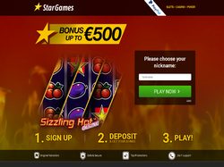 Play StarGames Now