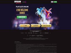 Play SuperCasino Now