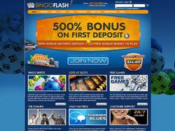 Play Bingo Flash Now