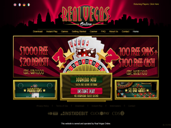Play Real Vegas Online Now