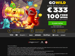 Play GoWild Casino Now