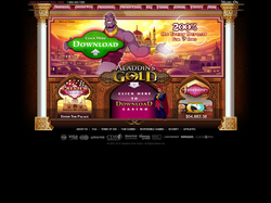 Play Aladdin's Gold Casino Now