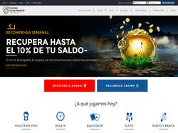 Play Casino Gran Madrid Online Now