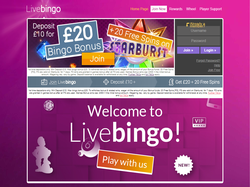 Play Livebingo Now