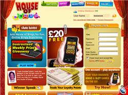 Play House of Bingo Now