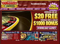 Play Vanguards Casino Now