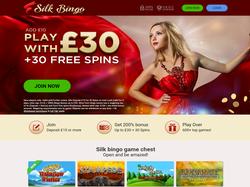 Play Silk Bingo Now