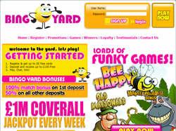 Play Bingo Yard Now
