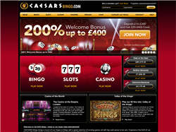 Play Caesars Bingo Online Now