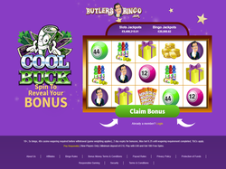 Play Butlers Bingo Now