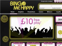 Play Bingo Me Happy Now