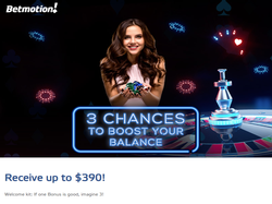 Play BetMotion Casino Now