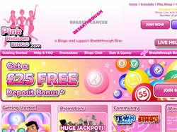 Play Pink Ribbon Bingo Now