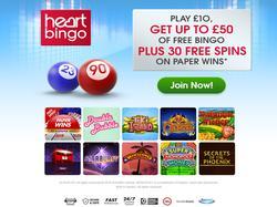 Play Heart Bingo Now