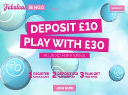 Play Fabulous Bingo Now