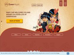 Play Queen Vegas Casino Now
