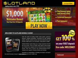 Play Slotland Mobile Now
