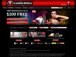 Play Casino Epoca Now