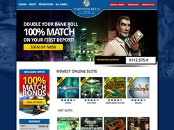 Play Platinum Reels Casino Now