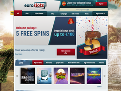 Play EuroSlots Now