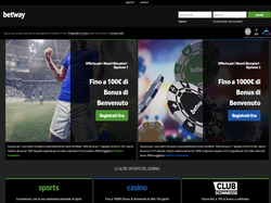Play Betway Italy Now