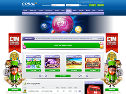 Play Coral Bingo Now