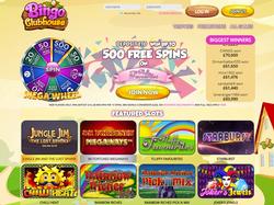 Play Bingo Clubhouse Now