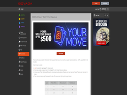 Play Bovada Poker Now