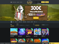 Play Jackpot Knights Casino Now