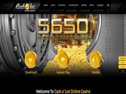 Play Cash O'Lot Casino Now
