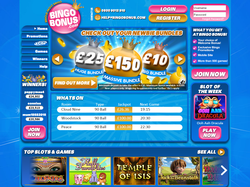 Play Bingo Bonus Now