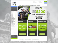 Play NYRAbets Now