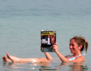 Floating in the Dead Sea with GPWA Times